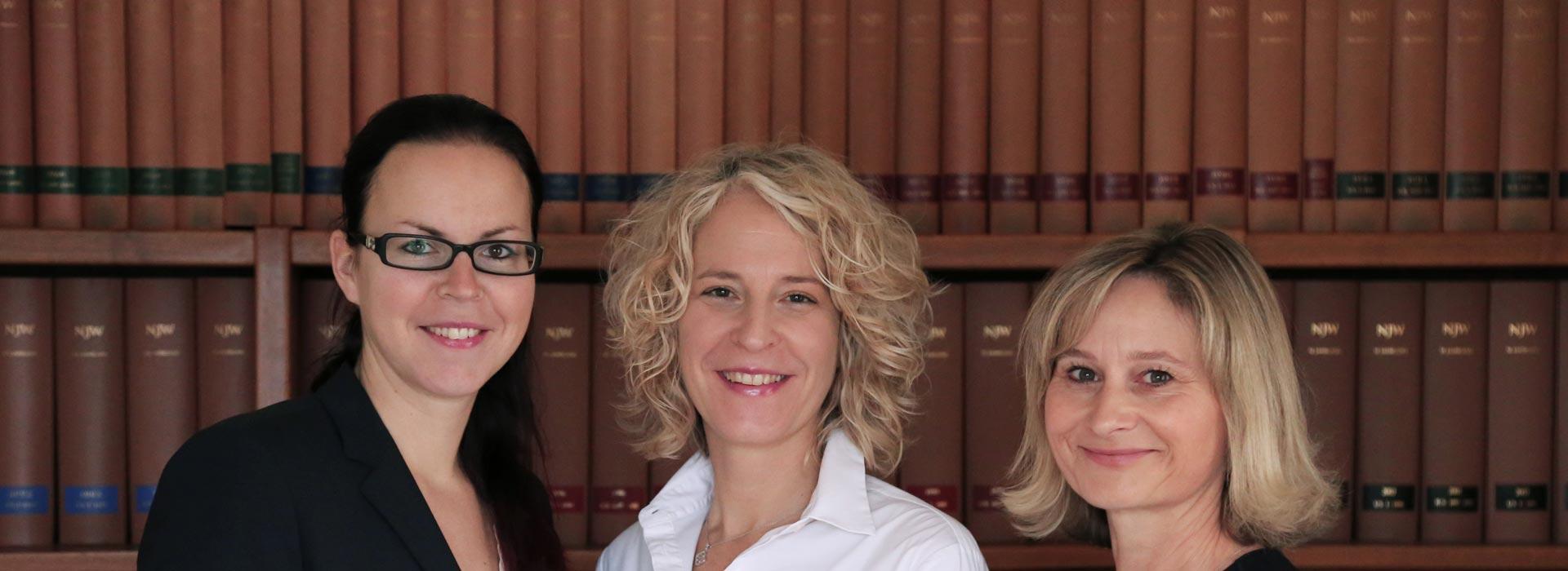 Team von Rechtsanwältin Schüler